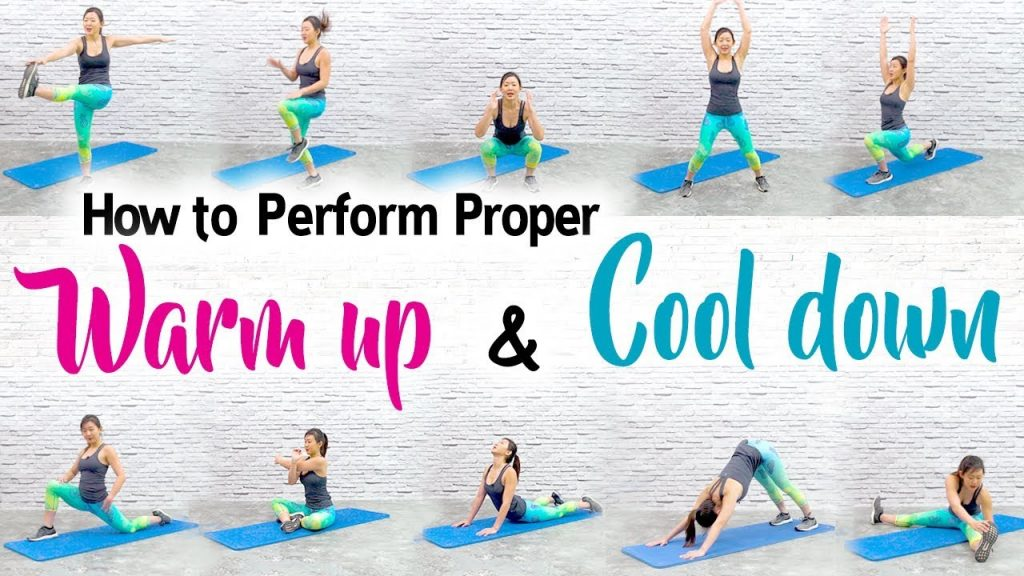 warm up and cool-down