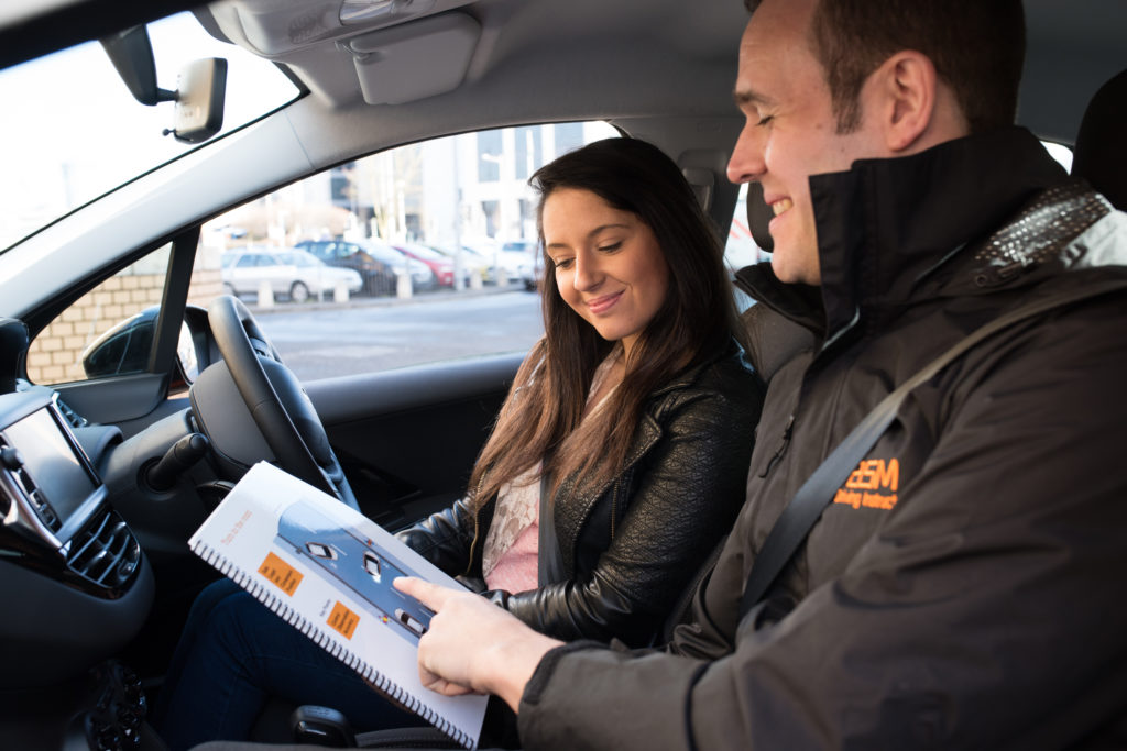 What are the processes of becoming a Driving Instructor?